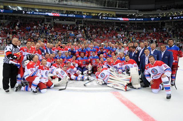 Ночная Хоккейная Лига. Фото: Михаил Климентьев / РИА Новости